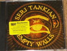 SERJ TANKIAN - Empty Walls  - 2 Track RARE US BEST BUY CD! NEW! System Of A Down