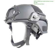ACH MICH Military Tactical Ballistic Helmet made with Kevlar NIJ Lvl IIIA Rail