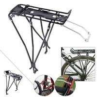 Bike Bicycle Rear Rack Bracket Seat Luggage Carrier Shelf Post Mount Pannier cl