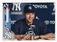 2020 Topps Update Photo Variation SP #U-257 DEREK JETER Yankees
