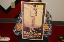Vintage 1932 Babe Ruth Over The Fence Baseball Movie New York Yankee Poster Sign