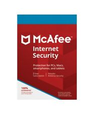 McAfee LiveSafe Antivirus Security 2016 Product Key No Disc 1 Year 5 Devices