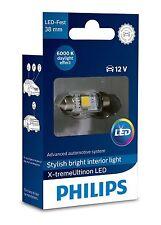 Philips LED Bulbs Ultinon FESTOON 38mm C5W 6000K 128596000KX1 Xenon White