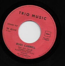 "Rudi Carrel ""Wat een geluk"" Eurovision Netherlands 1960 RARE EP Belgian Pressing"