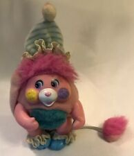 "Vintage 1986 Mattel Pocket Popple Crisby Baby Mini 3"" Plush"