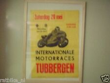 TUBBERGEN ROADRACE 1976 POSTER : Motorsport