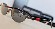 NEW~DOLCE & GABBANA~D&G~BLACK RED SUNGLASSES~ITALY 2033 731 OCCHIALI BOX
