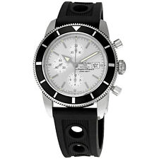 Breitling SuperOcean Heritage Chronograph Silver Dial Mens Watch A1332024-G698