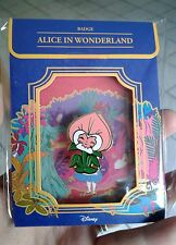 Alice in Wonderland Fantasy Pin Brooch Golden Afternoon Flower