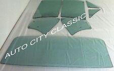 1967 Chev Camaro Pontiac Firebird HT Green Tint Vent Door Quarter Back Glass Set
