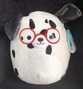 "Squishmallow 8"" Dustin Dalmation Dog Plush Stuffed Animal Toy New"