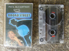 VINTAGE BEATLES CASSETTE WITH CASE - PAUL McCARTNEY, BROAD STREET