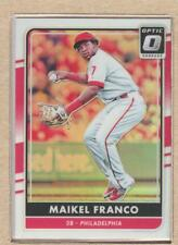 Maikel Franco 140 2016 Donruss Optic Holo