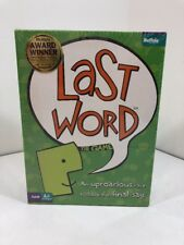 Last Word The Game - An Uproarious Race to Have the Final Say!  Great Party Game