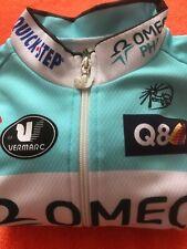 "Omega Pharma Quick Step Langarm Trikot Original Vermarc ,,Größe ""M-3-48"""