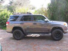 Smittybilt T1464R Textured Black Wheel to W Nerf Steps for Toyota 4Runner 14-18