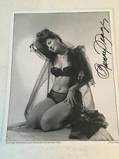 Bunny Yeager Autographed 8x10 Photo