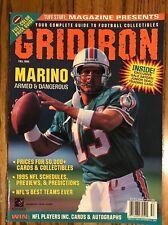 Fall 1995 Dan Marino Tuff Stuff Gridiron Magazine,*Free Shipping*