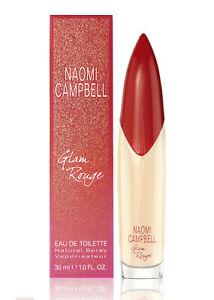 Naomi Campbell Glam Rouge Edt Eau de Toilette Spray 30ml NEU/OVP