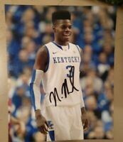 NERLENS NOEL SIGNED 8X10 PHOTO KENTUCKY NBA NCAA W/COA+PROOF RARE WOW