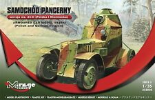 Armored Car Wz.34 -ii Polish and German Ver. Mirage Hobby 355020 Scale 1/35