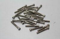 """1/4-20 x 1-3/4"""" 316 Stainless Steel Socket Head Cap Screws ( Lot of 29 ) New"""