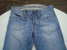 DOLCE & GABBANA D&G HERREN W31 L29 Jeans blau  Denim  FLECKEN-OPTIK