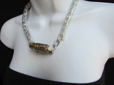 New Women Necklace Fashion Lock Combination Numbers Bikers Punk Chains Style