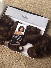 "DreamWeaver American Best 100% Human Hair Extantion Weave 3 Pieces 7"" T4  Brown"