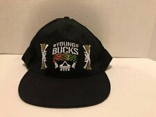 Bullet Club Nwt Wrestling Young bucks Hat Snap Back  Rare Out Of Print Wwe Aew