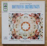 B677 CLUYTENS OFFENBACH HOFFMANN'S TALES 3 x LP ELECTROLA ED1 SMA 91459-61