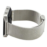 Wristband Strap for Fit Fitbit Blaze Activity Tracker Watch (Silver) Q9I7