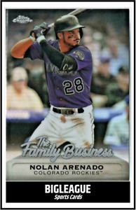 2019 Topps Chrome Update The Family Business YOU CHOOSE Complete Your Set