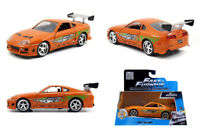 JADA 97345 - 1/32 1995 TOYOTA SUPRA FAST AND FURIOUS ORANGE DIECAST MODEL