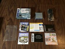 Game Boy Advance, GBA SP Pearl Blue System AGS 101 Bundle with the Box - Tested