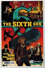 THE SIXTH GUN #2 - BRIAN HURTT ART & COVER - CULLEN BUNN STORY - ONI PRESS 2010