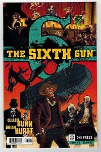 THE SIXTH GUN #2 - BRIAN HURTT ART & COVER - CULLEN BUNN STORY - ONI PRESS 2010