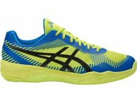Asics VOLLEY ELITE FF Yellow Blue Men Volleyball Shoes B701N-7743