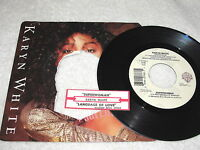 "Karyn White ""Superwoman / Language of Love"" 45 RPM, 7"" Single,+Jukebox Strip"