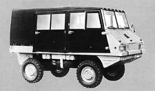 1972 Steyr Puch Haflinger 700AP Factory Photo J7845