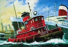 Revell Germany 1/108 Harbour Tug Boat Model Kit 05207 80-5207 RVL05207