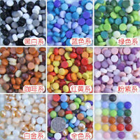 1.2cm DIY Vitreous Glass Mosaic Tiles Wall Crafts 200g Mixes Optic Drops Tools