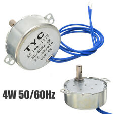 CCW/CW Direction 4W 50/60Hz 2.5-3RPM AC 100-127V Electric Synchronous Motor Kit#