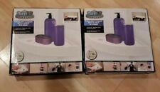2 Corner Storage Rack Holder Shelves —Bathroom Punch-free Corner Snap Up Shelf