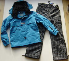 Snowboardanzug Skianzug Thinsulate L 52 54  blau schwarz  Hose NEU