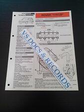 FICHE TECHNIQUE AUTOMOBILE RTA ROVER 114 LD (réf 009)