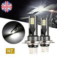 H7 Car LED Fog lights 200W Headlight Bulbs Kit 6000k HID Decoder Fog Bulbs