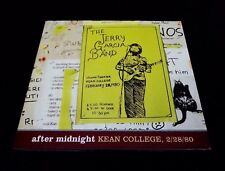 Jerry Garcia Band After Midnight Kean College 2/28/1980 3 CD JGB Grateful Dead