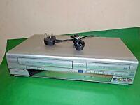 FUNAI DVD Video Recorder VHS Combo DRV-B2737 Copy VHS Tape 2 DVD Silver FAULTY