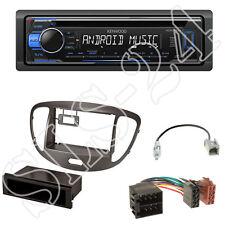 Kenwood KDC-120UB CD USB Radio + Hyundai i10 Blende silber + ISO Adapter Set